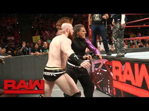 Rollins, Ambrose & The Hardy Boyz vs. Cesaro, Sheamus, Gallows & Anderson: Raw, Sept. 11, 2017
