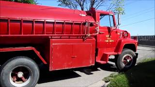 Old Fire Truck from Iona