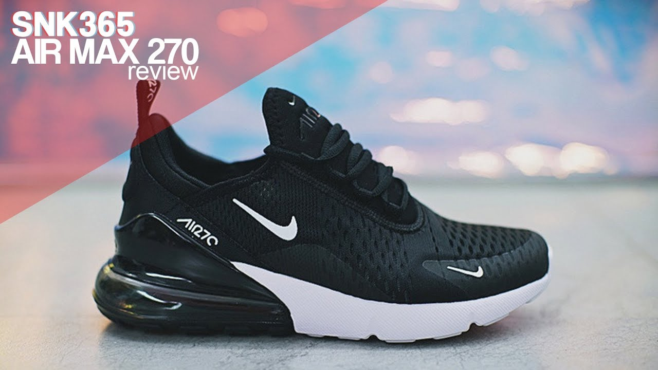 8b660cf8e83e Nike Air Max 270 - Review Romana - YouTube