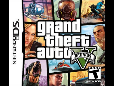 Gta V On Nintendo Ds Lite Youtube