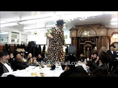 Badchan @ Sheva Brochos For An Einikel Of Karlsburg Ruv Together With Purim Katan Tish 5774