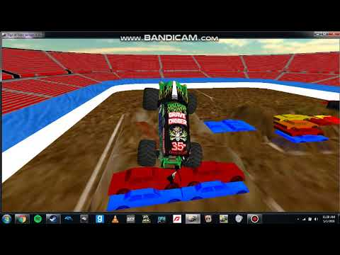 My Best run in Grave Digger 35th ann. at WF10!