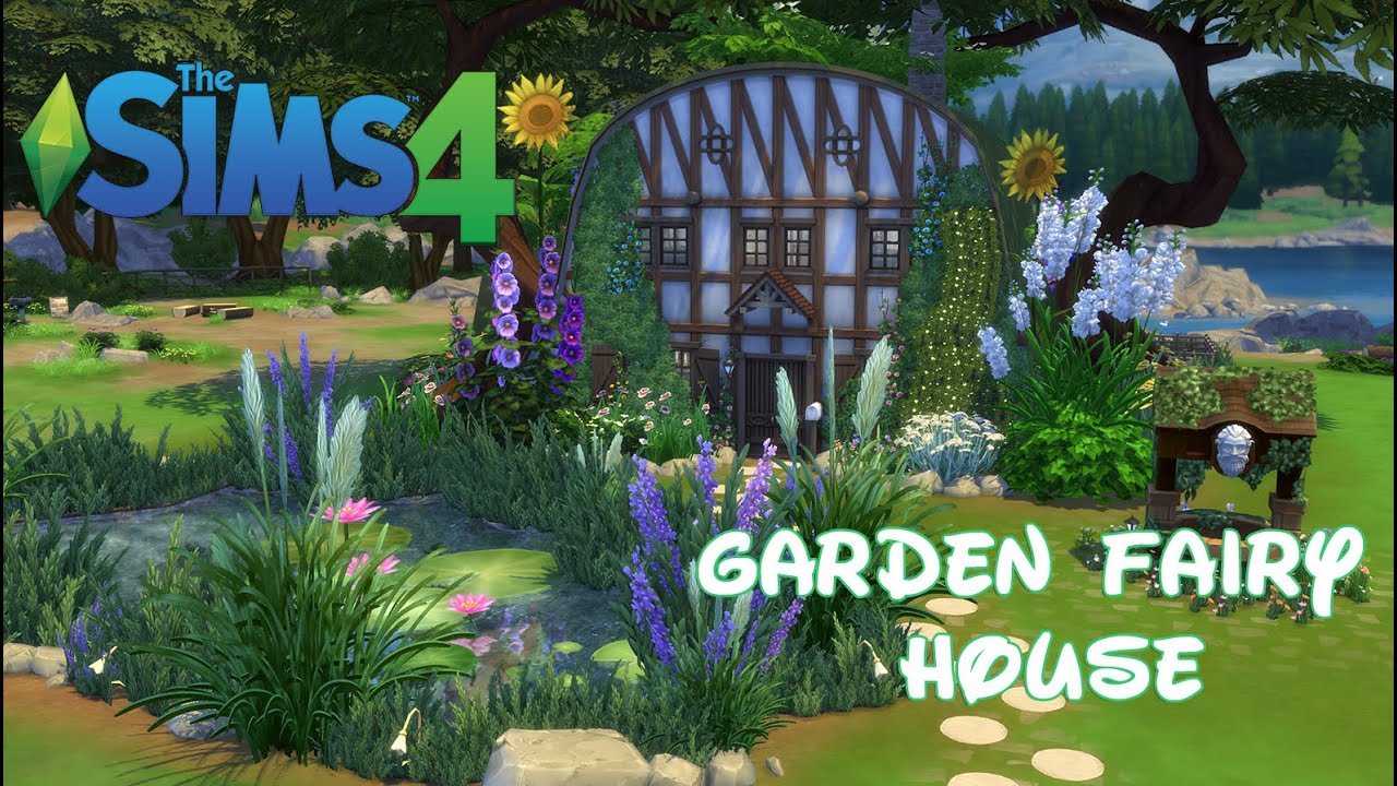 The Sims 4   Garden Fairy House