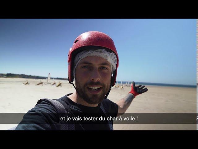 Monsieur Aventure A Teste Pour Vous Le Char A Voile Dans La Baie De Douarnenez Youtube