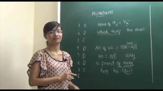 Học Tiếng Anh Cô Mai Phương - Đại Từ tiết 5 (Chữa bài tập).mp4