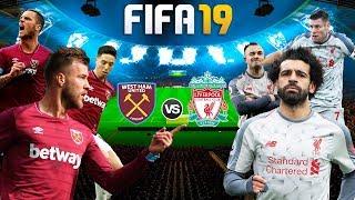 FIFA 19 | เวสต์แฮม VS ลิเวอร์พูล | รับชมมันส์ๆ ก่อนแข่งจริง !! 1080p 60fps