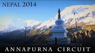 Annapurna Circuit Trekking, April 2014
