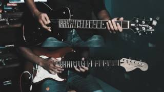 LAST GOAL! PARTY- WILD AND FREE (GUITAR COVER BY AGUS SALDANHA)