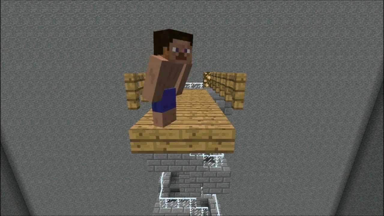 Minecraft Mr Bean Im Schwimmbad Hd Youtube