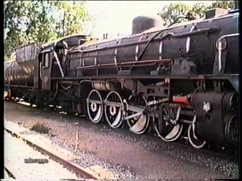 Bulawayo Railway 1990, steam in profusion
