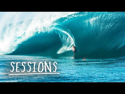 Endless Heavy Waves in Tahiti | Sessions