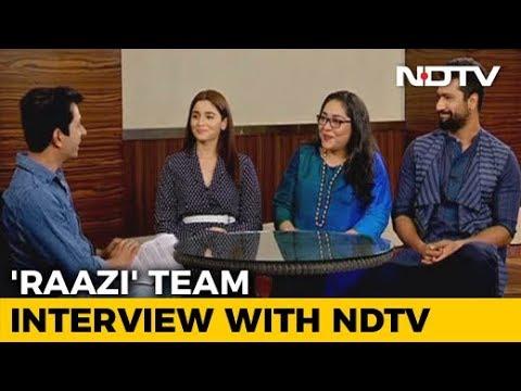 Full Interview: Alia Bhatt, Meghna Gulzar & Vicky Kaushal On Their Upcoming Film 'Raazi'
