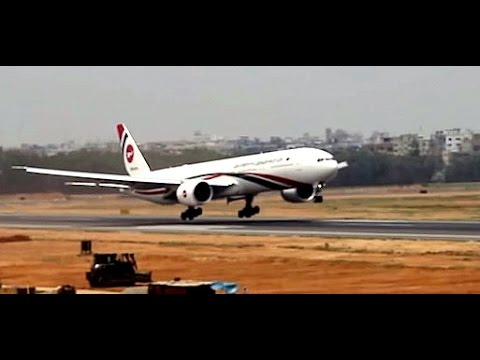 L&T 05 - Excellent Plane spotting at Dhaka Airport Bangladesh - Landings, Takeoffs, ATC Radio, Types