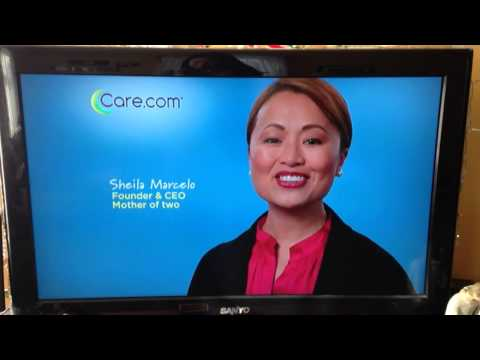 Colbi Gannett care.com commercial