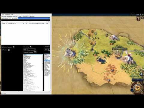 Civilization 6 FireTuner: First run and panels - YouTube