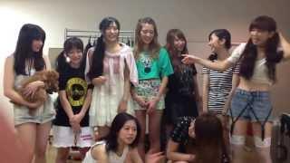 2013年6月30日に行われたPASSPO☆の品川ステラボールチャーター便フライ...