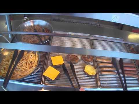 Outdoor Lunch Buffet - Norwegian Star Cruise Ship