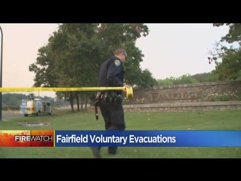 Fairfield Residents Keeping Watch As Atlas Fire Draws Near