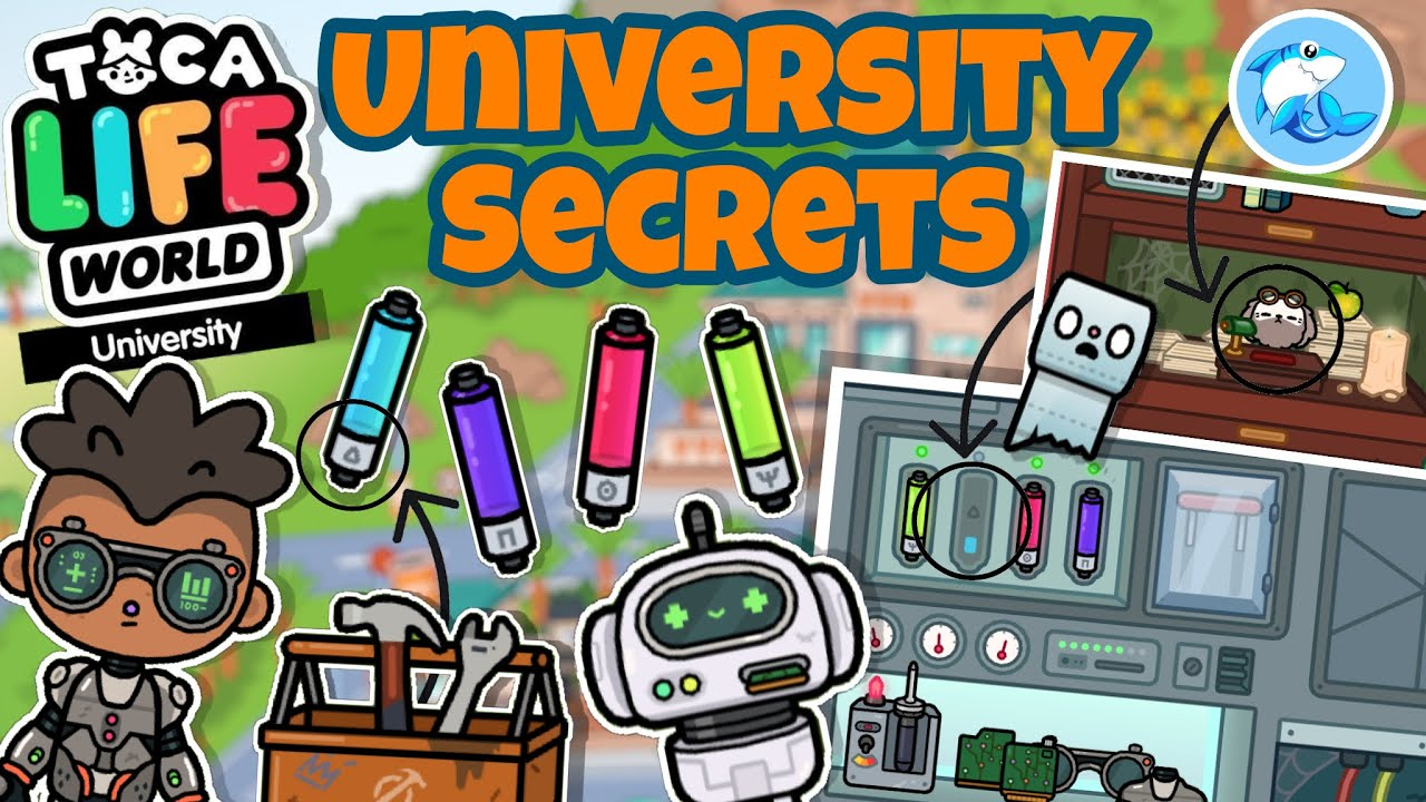 Toca Life World | University Secrets!!