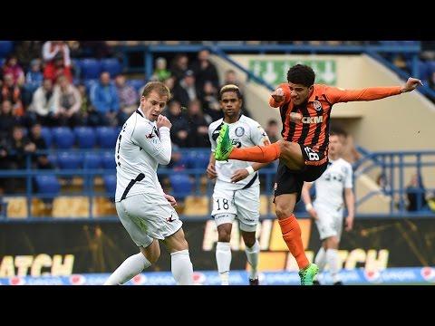 Shakhtar 1-2 Chornomorets. Highlights (9/04/2017)