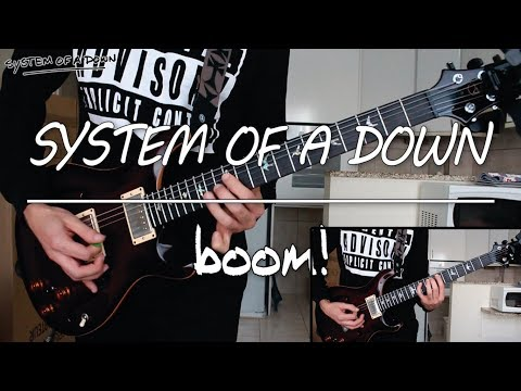 System Of A Down - Boom! (guitar cover)