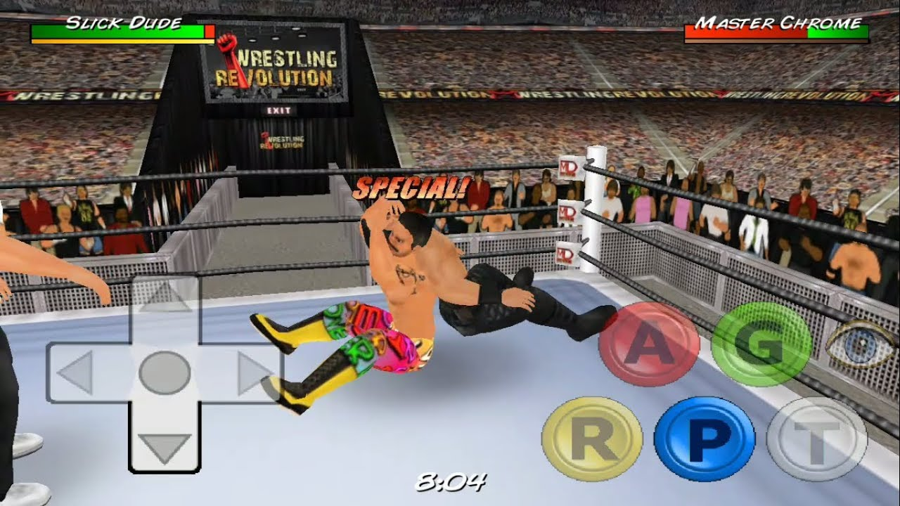 Wrestling Revolution 3D #1 Android IOS GamePlay & Walkthrough - New Update  2018 | WWE Wrestling Game