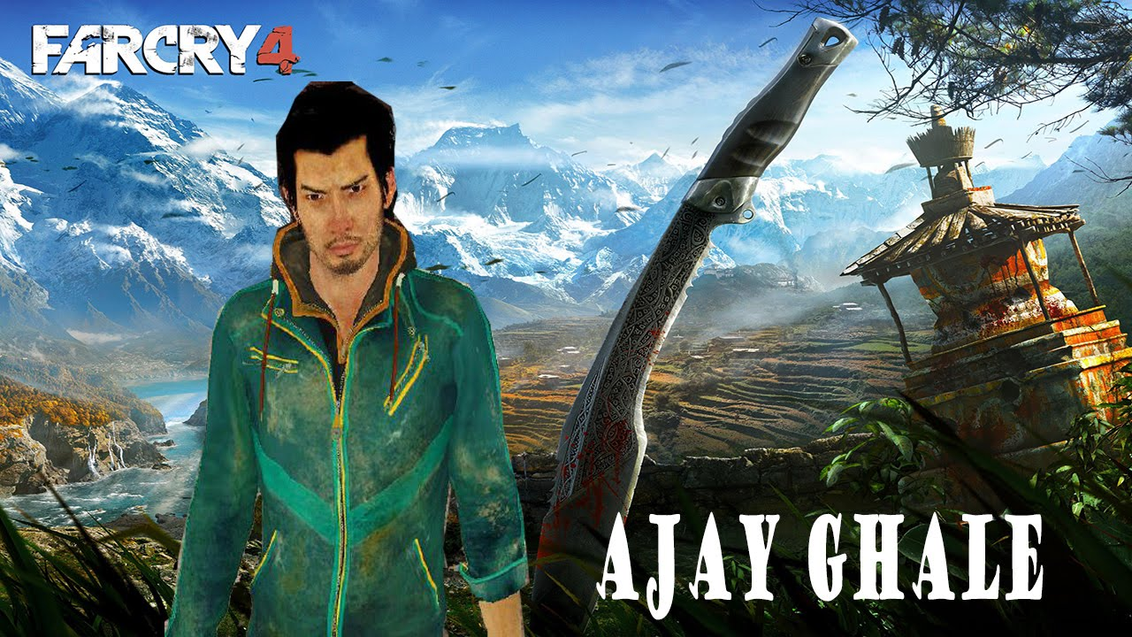 Ajay Ghale Far Cry 4 Skin Gta Sa Youtube