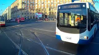 ДТП с троллейбусом 16 10  2018