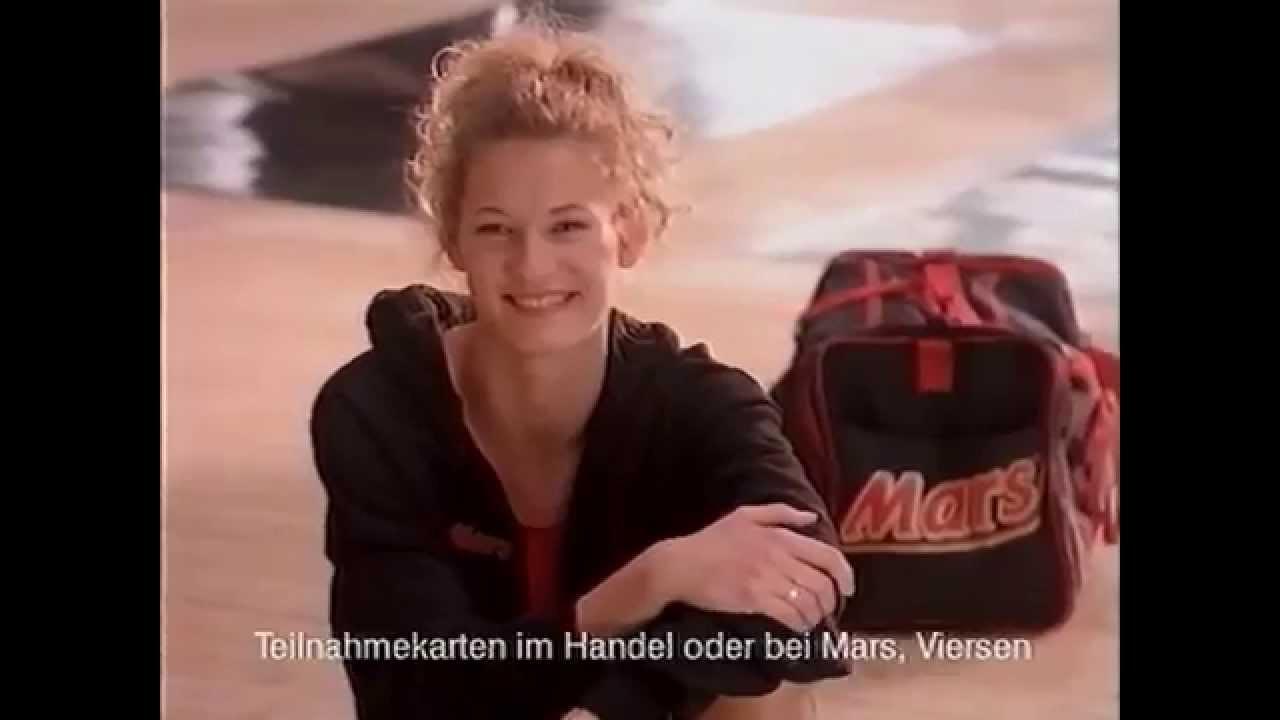 Mars Werbung Heike Henkel 1993 Tv Spot High Jump Athlete