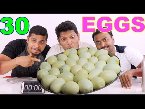 30 BOILED EGGS CHALLENGE 🚀🚀  EGG EATING COMPETITION BY RANGERS