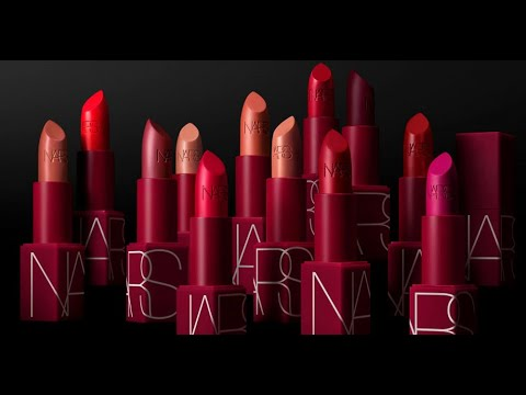 Re-Review: NARS Iconic Lipsticks (Reformulated Red Tube) Swatches And Review