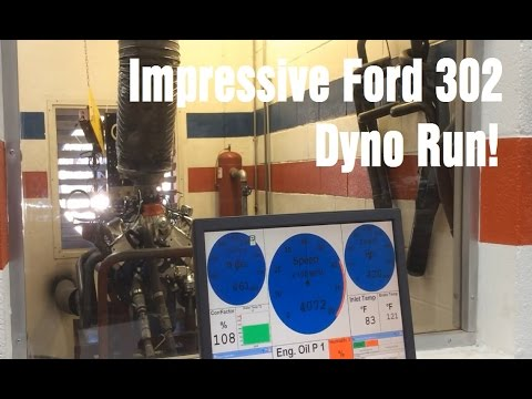 Ford 302 Dyno Run with a surprising result! - Wrenchin' Up