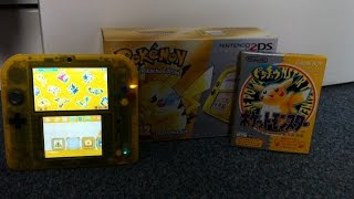 pokemon yellow 2ds unboxing review