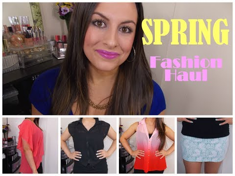 Spring 2014 Fashion HAUL ║ Affordable Online Shopping (Try On Style)