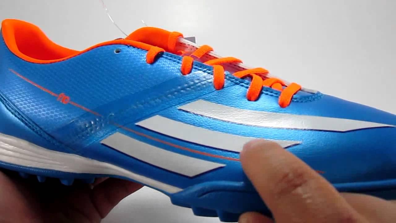 finest selection 82c11 8e3f9 Adidas F10 TRX TF - D67197, Samba Pack Leo Messi - YouTube