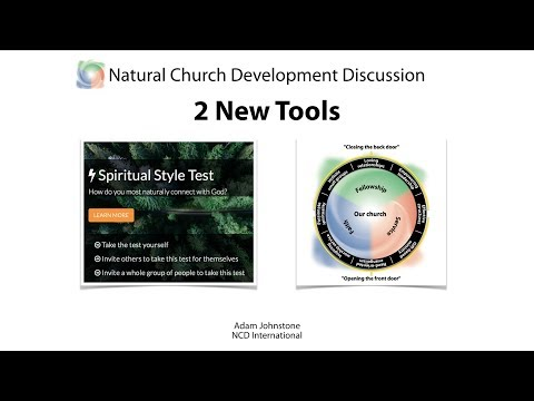 Natual Church Development — 2 New Tools
