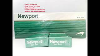 How to Distinguish the REAL Newport 100s Cigarettes