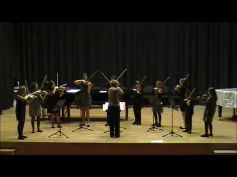 Tartini Trio Sonata in D major for two violins and piano