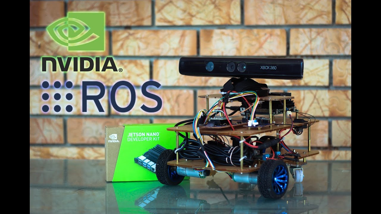 Indoor Mapping and Navigation Robot Build with ROS and Nvidia Jetson Nano