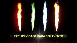 FIRE MACHINE DMX COLOR - ELECTRA LIGHT