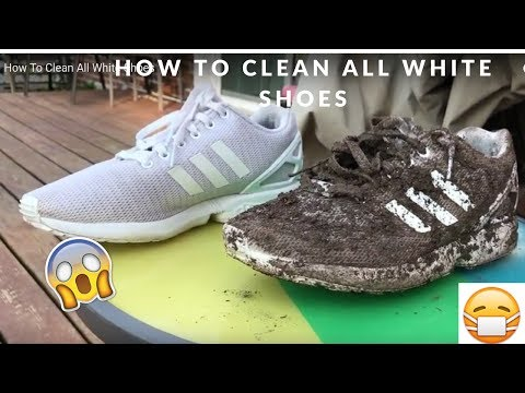 How To Clean All White ZX Flux