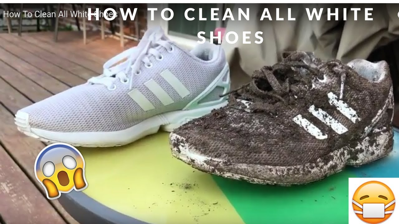 f9a28345924c9a How To Clean All White ZX Flux - YouTube