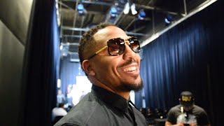 ANDRE WARD: [AMIR KHAN] GOING TO HAVE TO FIGHT THE FIGHT OF HIS LIFE!