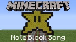Minecraft Note Block Song: Super Mario Bros: Star Theme