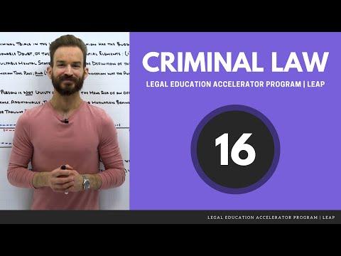 Criminal Law: Attempt