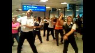Delta Employees Flash Mob Salt Lake City