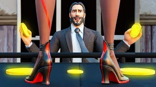 What John Wick Does, Is NONE of YOUR Business! Fortnite Animations
