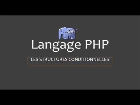 Langage PHP: Structure conditionnelle