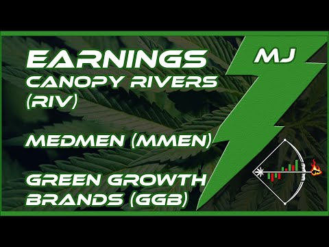 Feb 27 -Earnings Review for Canopy Rivers, MedMen and Green Growth Brands (RIV, MMEN, GGB)