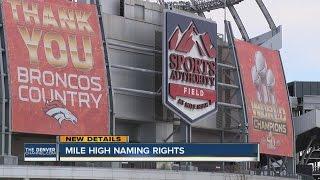 Upgrades coming to Broncos stadium